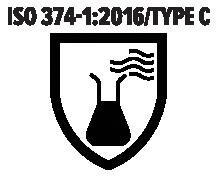 ISO 374-1 2016 Type C